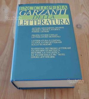Enciclopedia Garzanti della letteratura AA.VV