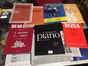 Libri musicali nuovi, da vendere in blocco