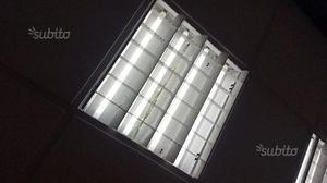Plafoniere A Tetto : Plafoniere 60x60 come nuove complete di neon posot class