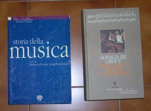 2 volumi di storia della musica
