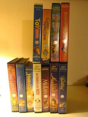 Disney film in videocassette VHS