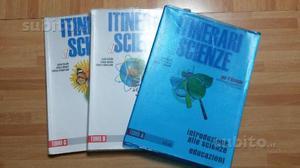 Itinerari di scienze. (3 Tomi) ISBN