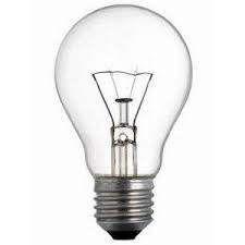 Lampadina GOCCIA chiara/trasparente Ew, 25w, 40w, 60w