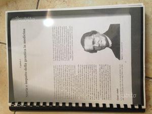Libro universitario di genetica