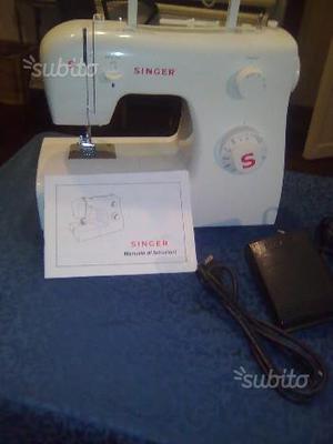 Vendo macchina da cucire singer 414 beige usata posot class for Macchina da cucire singer elettrica