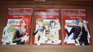 Manga JPop La Corda D'Oro Yuki Kure 1-2-3 NUOVI