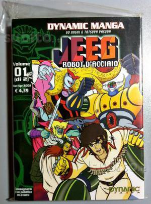 Manga Jeeg Robot Dynamic Italia prima stampa