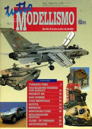 RIVISTA TUTTO MODELLISMO raccolta completa 84 n
