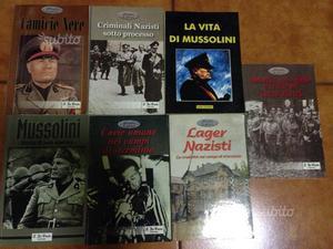 Stock libri storia del fascismo e nazismo