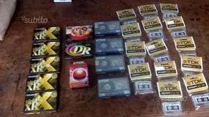 Cassette vergini professionali in stock