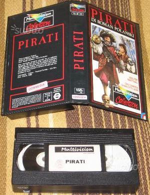 Film VHS - I PIRATI di Roman Polanski