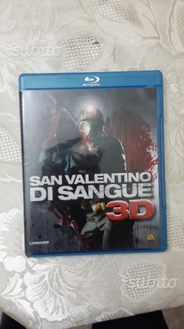 Film blu ray san Valentino di sangue 2D 3D