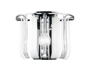 I-franklyn-ap - Applique Moderna Di Colore Bianco 40 Watt