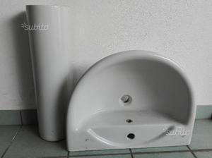 Lavabo con colonna