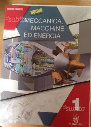 Libro nuovo Meccanica, macchine ed energia