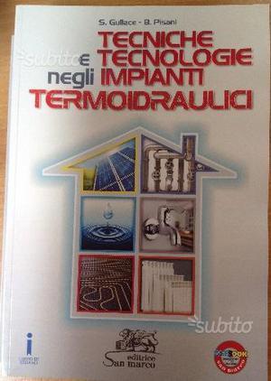 Libro nuovo Tecniche e tec.gia imp. termoidraulic