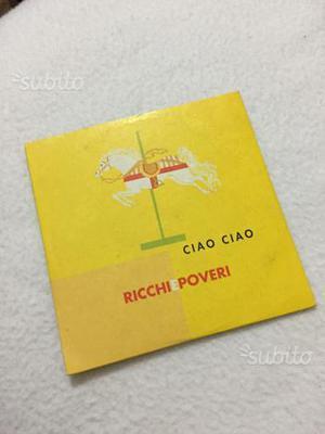 "Ricchi e poveri ""ciao ciao"" cd raro singolo"