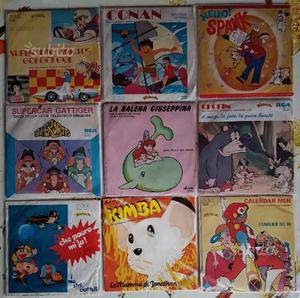 Sigle 45 giri di cartoni animati originali