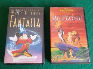 VHS Disney: Fantasia - Il Re Leone