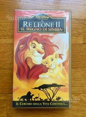 VHS - Il Re Leone II - Il regno di Simba