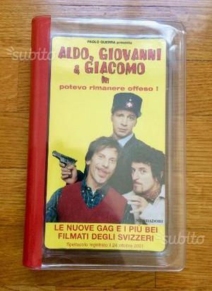 VHS Libro - Aldo, Giovanni e Giacomo