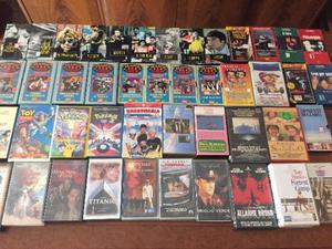 Videocassette vhs varie