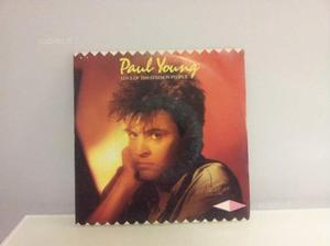 Vinile 45 giri Paul Young Love of the common prop
