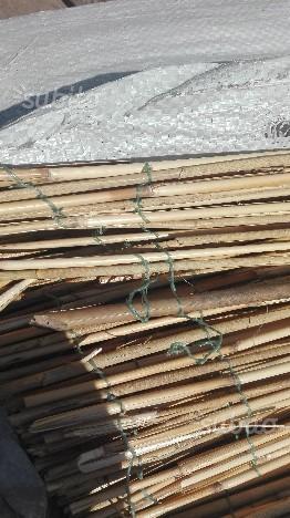 Arelle ombreggianti in canne bamboo 7 pezzi totale posot for Arelle ombreggianti