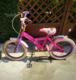 Bicicletta bambina Glamour rosa