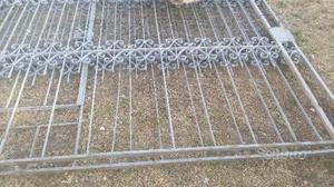 Cancello in ferro battuto lavorato