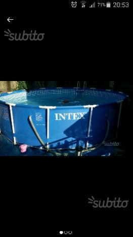 Piscina circolare posot class for Interrare piscina intex