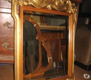 Stupendo specchio cornice lavorata oro posot class - Specchio cornice oro ...
