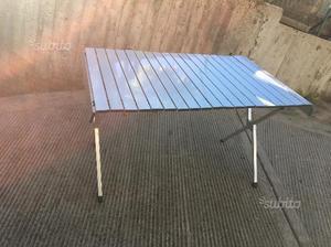 Tavoli alluminio per mercati stand posot class for Sedie osteria usate
