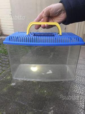 Acquario teca per pesci tartarughe ecc posot class for Tartarughiera per tartarughe grandi