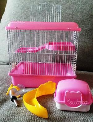 Gabbia per criceti e piccoli roditori