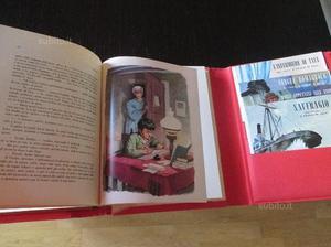 Libro Cuore con dischi in vinile da collezione