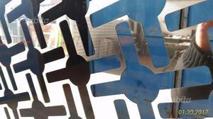 Pannelli decorativi acciaio inox