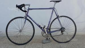 Bici corsa de rosa acciaio campagnolo