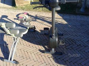 Cyclette panca palestra