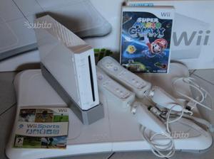 Nintendo Wii + pedana Wii Fit