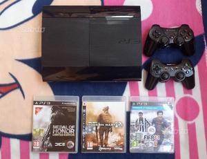 Playstation 3 super slim 2 joystick 3 giochi