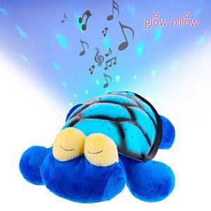 Pupazzo Coccoloso Con Proiettore Led Glow Pillow - Animale