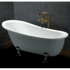 Vasca da bagno tradizionale con piedini posot class - Vasca da bagno con gambe ...
