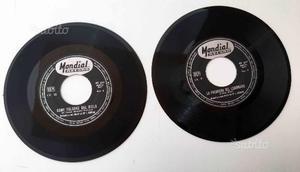 2 rari vinili 45 giri originali II Guerra Mondiale
