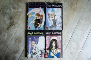 Angel Sanctuary Planet Manga numeri