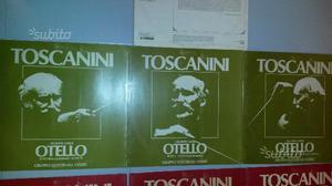 Dischi opera lirica Otello, Falstaff, Aida