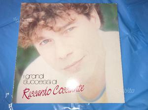 """Disco """"I grandi successi di Riccardo Cocciante"""""""