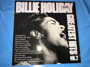 Disco in vinile di Billie Holiday Greatest Hits
