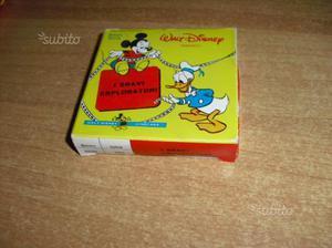 Disney - I BRAVI ESPLORATORi - filmino super 8 mm
