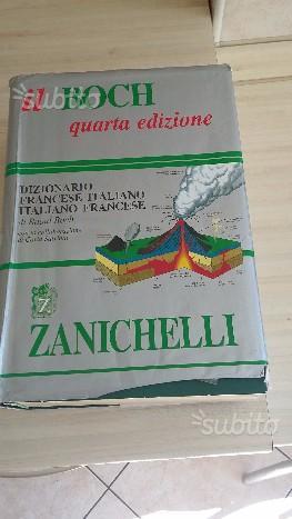 Dizionario francese boch IV edizione